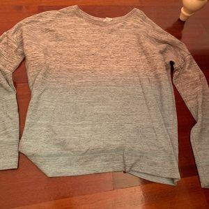 GapFit Like New Sweatshirt Ombré Effect